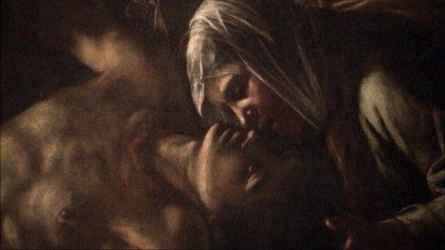 """Resurrection of Lazarus"" by Caravaggio"
