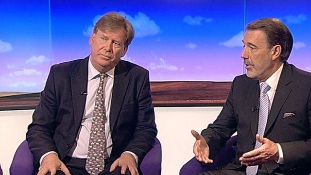Simon Burns and Hamish Meldrum