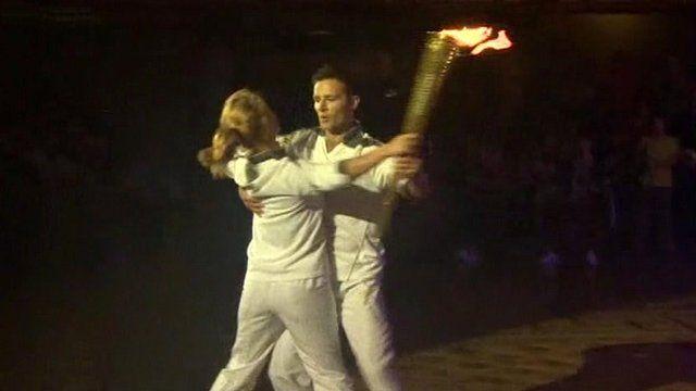 Harry Judd and Aliona Vilani