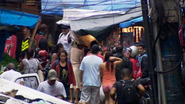 Rocinha in Brazil