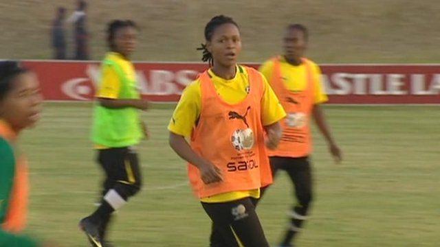 South Africa women's team training