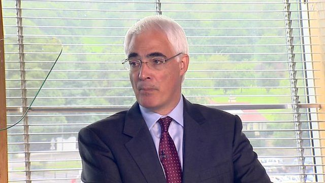 Former UK chancellor Alistair Darling