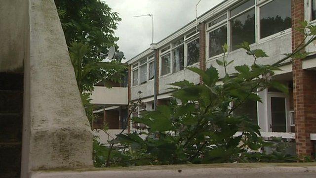 Earlham House in Norwich