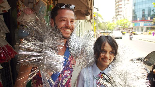 Martin Churba and Shilpa Chavan
