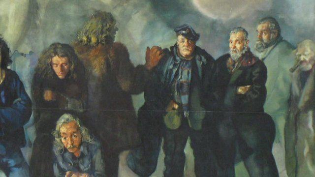 Lenkiewicz painting