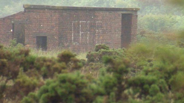 Derelict building at Broughton Moor
