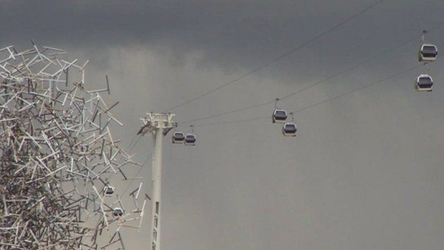 Cable car service, Emirates Air Line