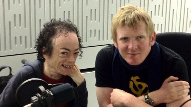 Liz Carr and Rob Crossan, Ouch! disability talk show hosts