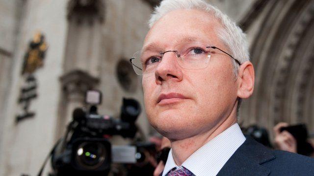 Julian Assange in July 2011