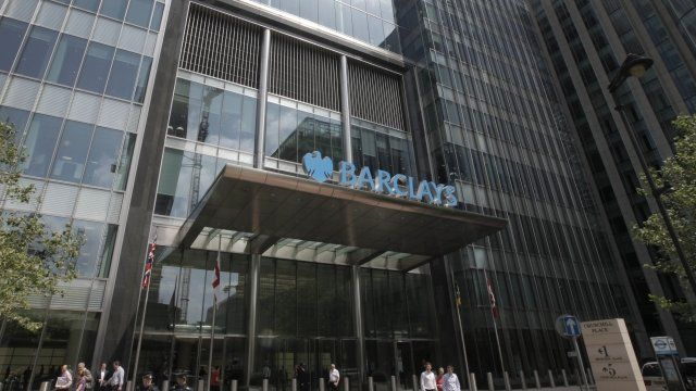 The Barclays HQ in London