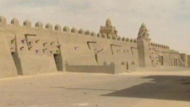 Timbuktu's World Heritage site