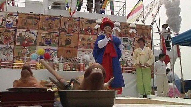 Shaman's newfound popularity in South Korea