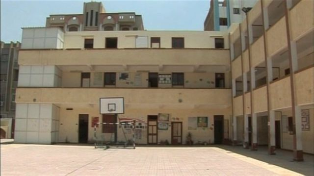 An Islamic school in Ismailiya in Egypt.