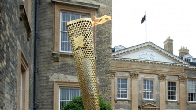 Flame at Althorp House