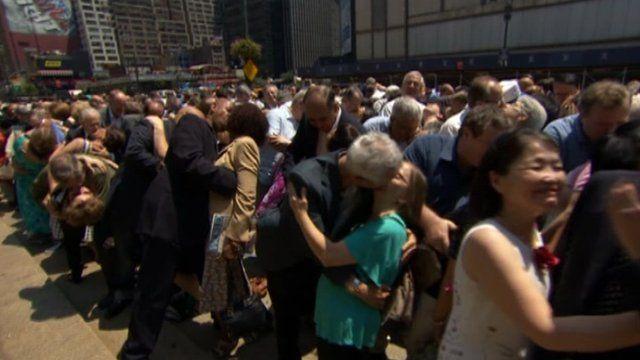 Anniversary of controversial mass wedding