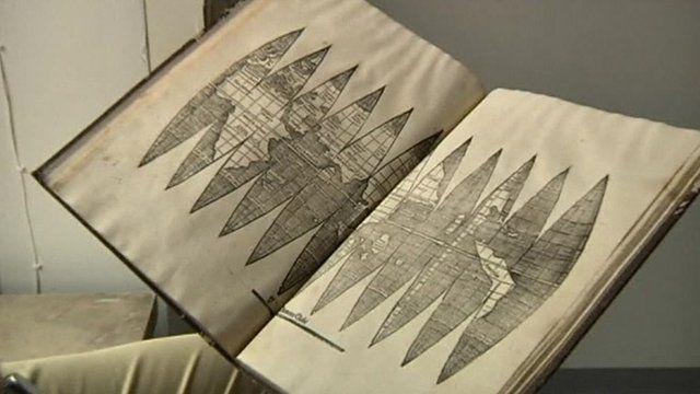 Rare copy of Waldseemueller's early America map