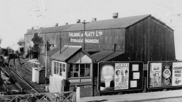 The old Fielding and Platt factory in Southgate Street, Gloucester