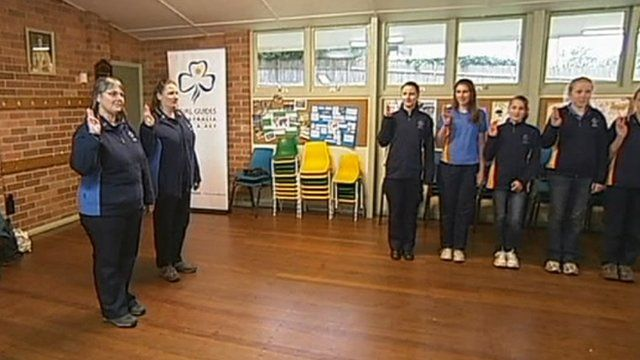 Girl Guides in Australia