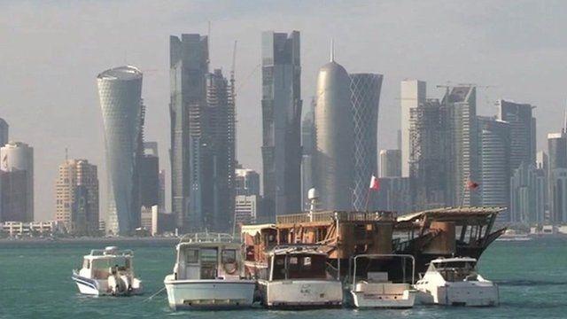 Qatar coast