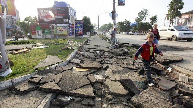 Russian flood hit city of Krymsk