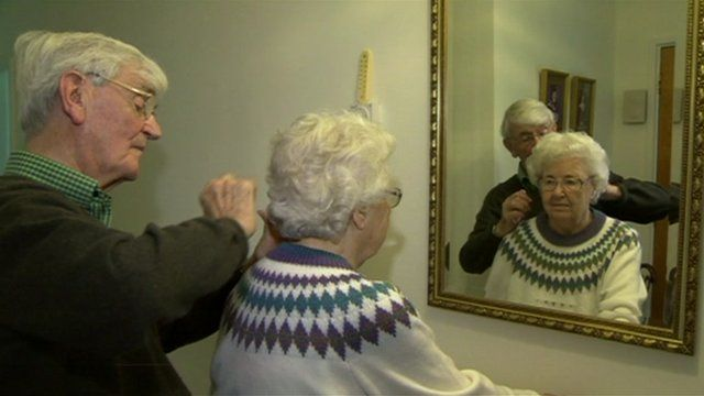 Pensioners in England