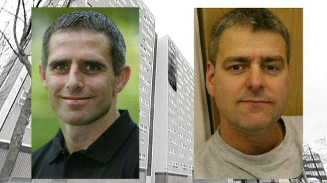Jim Shears and Alan Bannon
