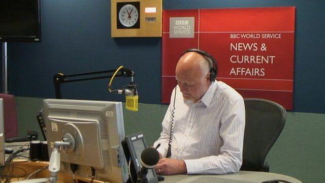 Presenter Iain Purdon