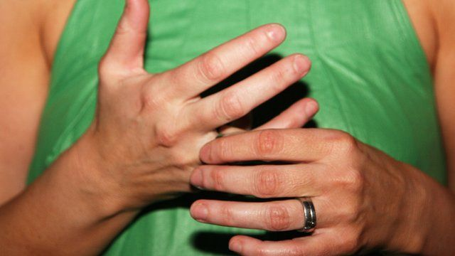Woman's hands