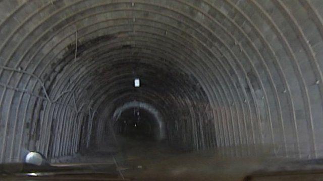 South Crofty underground
