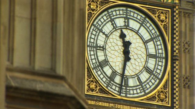 Clock Tower on House of Commons