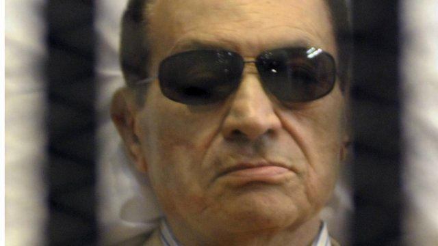 Hosni Mubarak - file photo