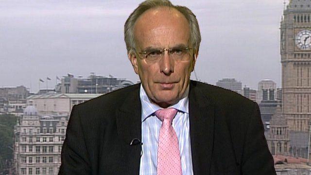 Welllingborough MP Peter Bone