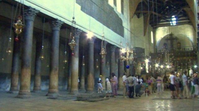 The Church of the Nativity in Bethlehem