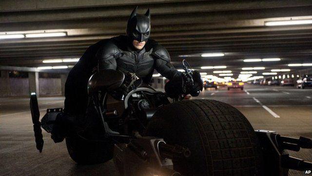 Batman in The Dark Knight Rises
