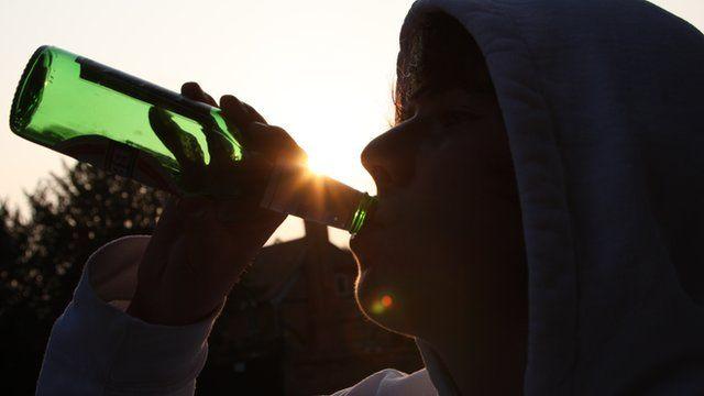 teenage drinker
