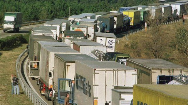 Delays at borders happen for many reasons, but they add to the costs of doing business