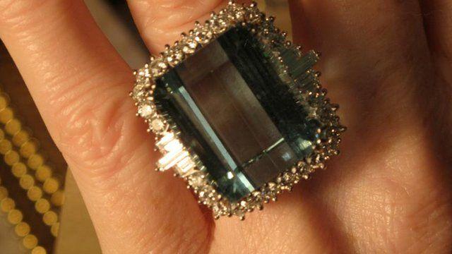 Trevor Baines jewellery auction raises over £20,000