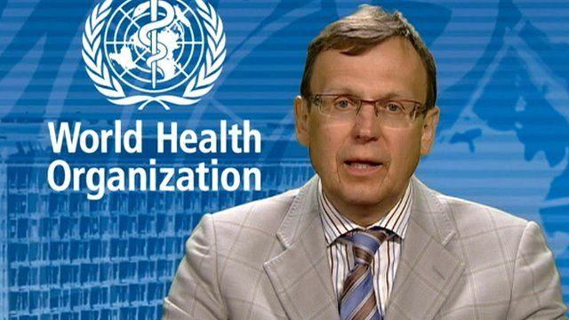 Dr Mario Raviglione of the World Health Organization