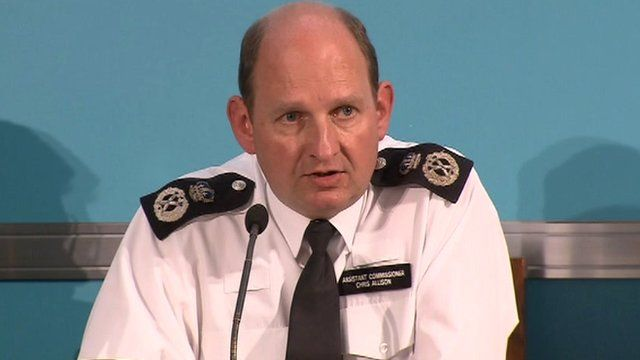 Metropolitan Police Assistant Commissioner Chris Allison