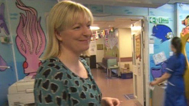 Louise McCathie, head of fund-raising at Birmingham Children's Hospital
