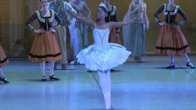Michaela De Prince dancing