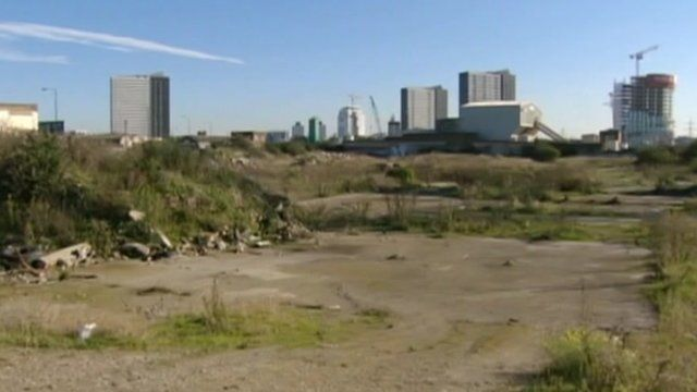Site of Olympic Park before development