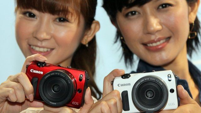 Despite the strong yen, companies like Canon are performing relatively well