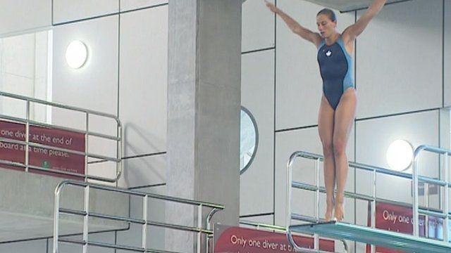 Canadian diver