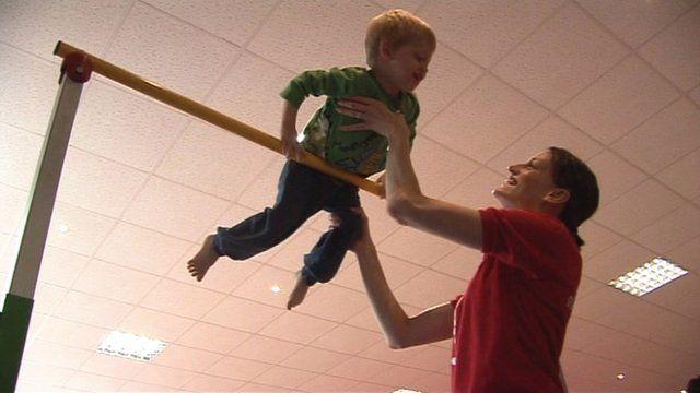 Child gymnastics