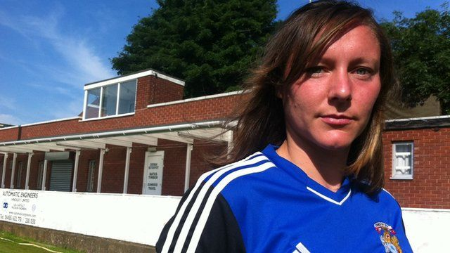 Kate Ward, left back for Coventry City Ladies