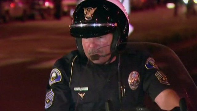 California policeman