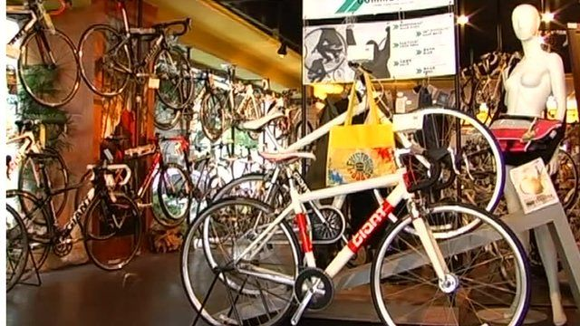 Bicycles for sale in Taiwan