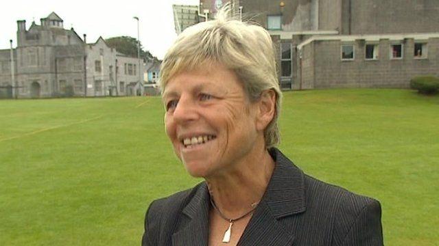 Plymouth College deputy head Sarah Dunn
