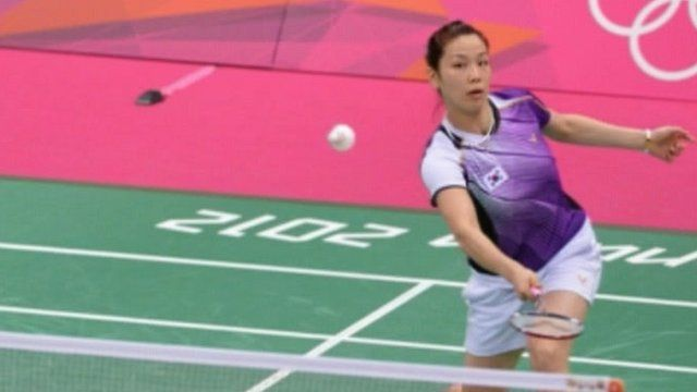 One of the disqualified badminton players